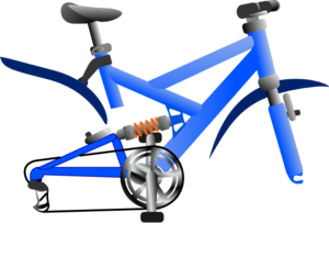 Bicycle without wheels